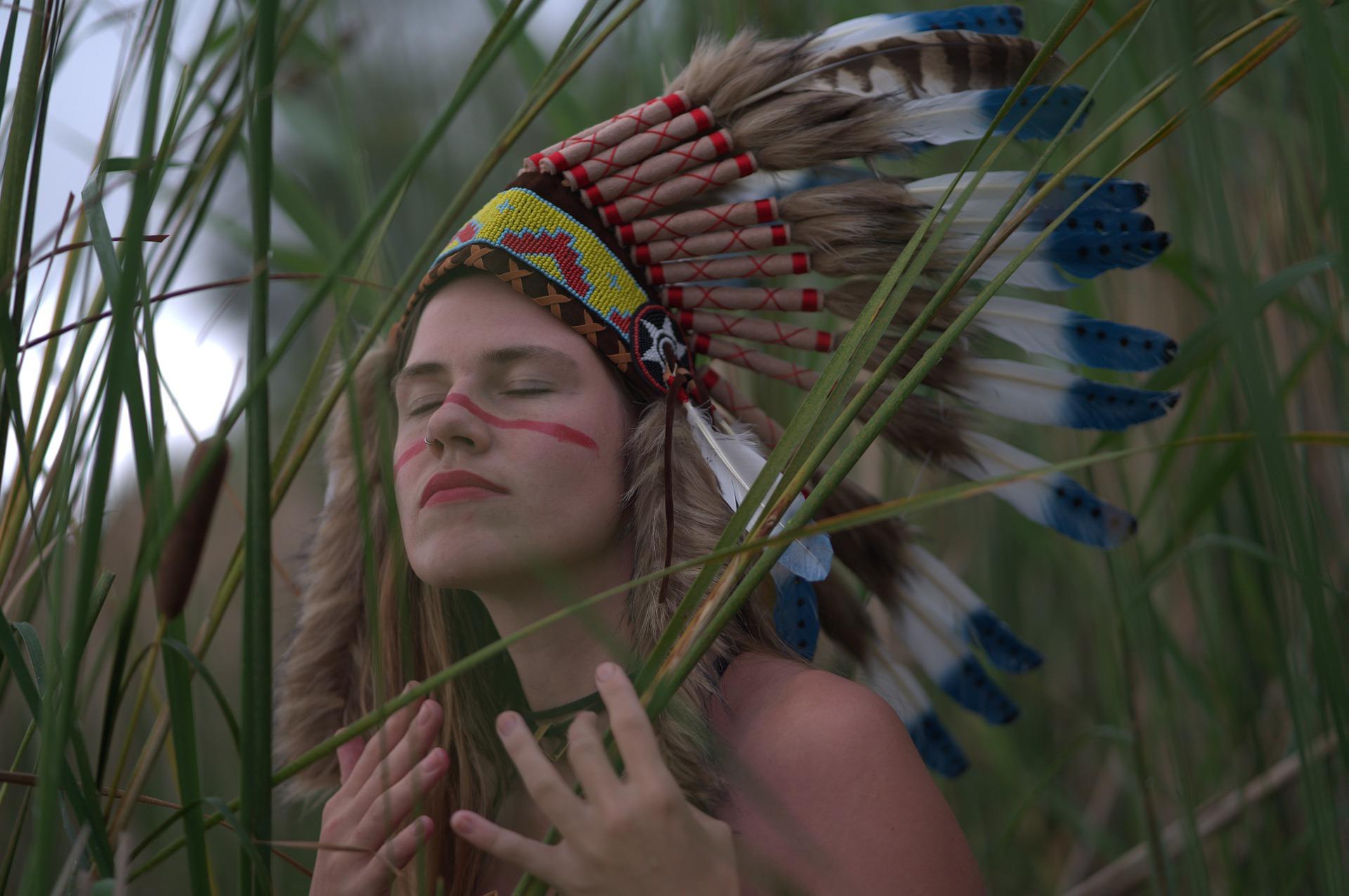 Najděte v sobě sílu indiána