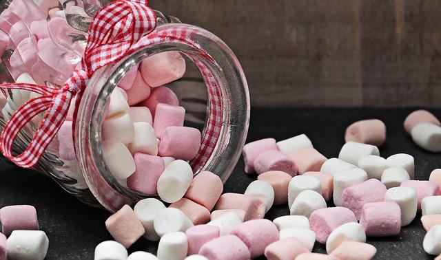 oblíbené bonbony