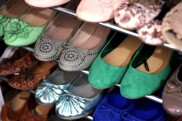 baleríny v botníku