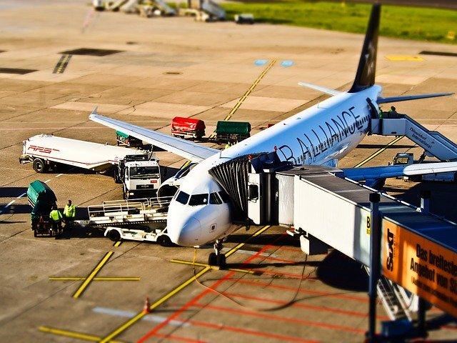 příprava letadla