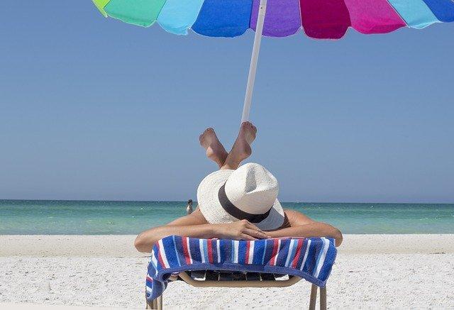 relaxovat na pláži