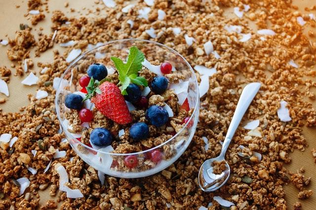 zdravá granola